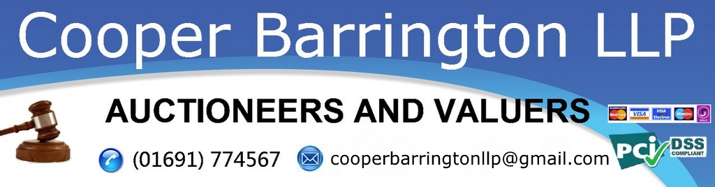 Cooper Barrington Auctioneers, Antiques Auctions Liverpool, Chester, Shrewsbury, Warrington, Llandudno
