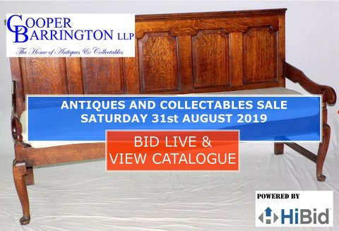 Cooper Barrington Antique Auction Catalogue