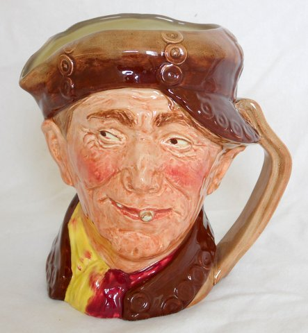 Rare Royal Doulton Large Character Jug - Pearly Boy. Issued: 1947 only