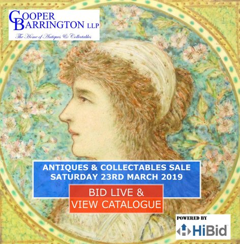 Cooper Barrington Antiques and Collectables Sale Catalogue